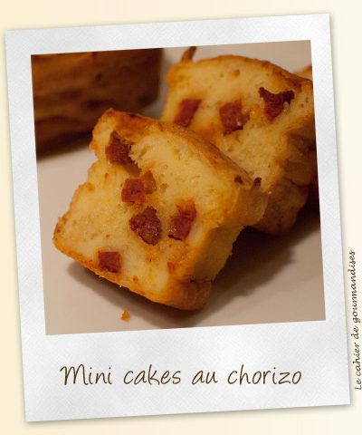 Mini-cakes au chorizo