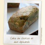 Cake chorizo, épinards et noix de pécan