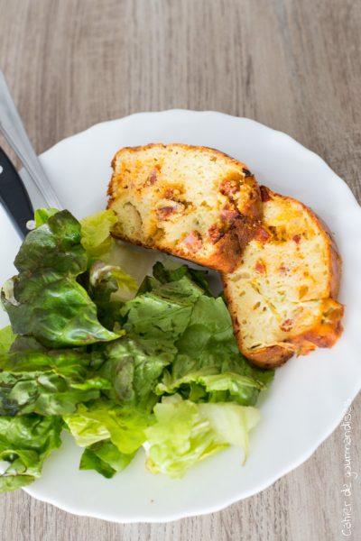 Cake courgette chorizo | Cahier de gourmandises