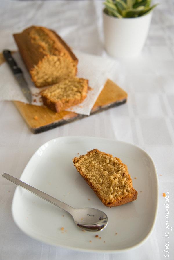 Cake Dakatine Coco | Cahier de gourmandises