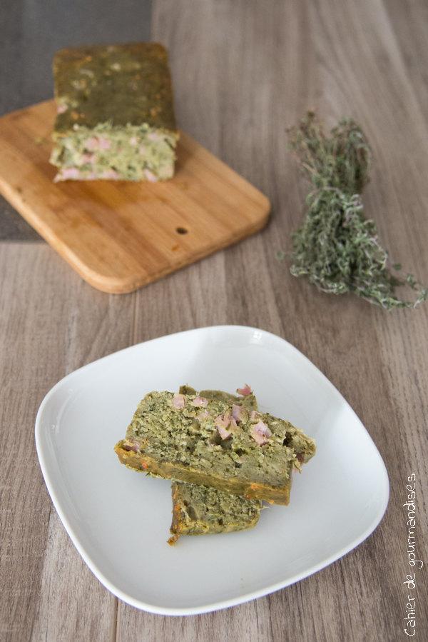 Cake Pesto Fanes Carottes   Cahier de gourmandises