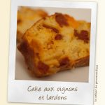 Cake oignons chorizo