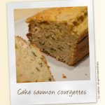 Cake saumon-courgette