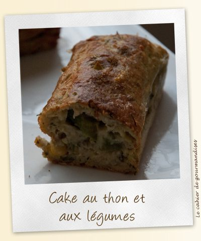 Cake thon et légumes