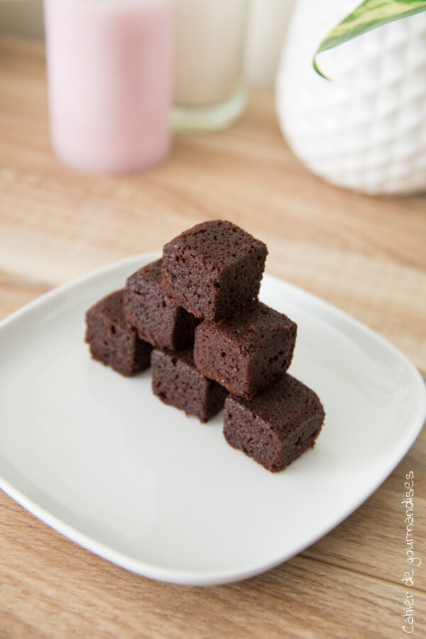 Carres au chocolat | Cahier de gourmandises