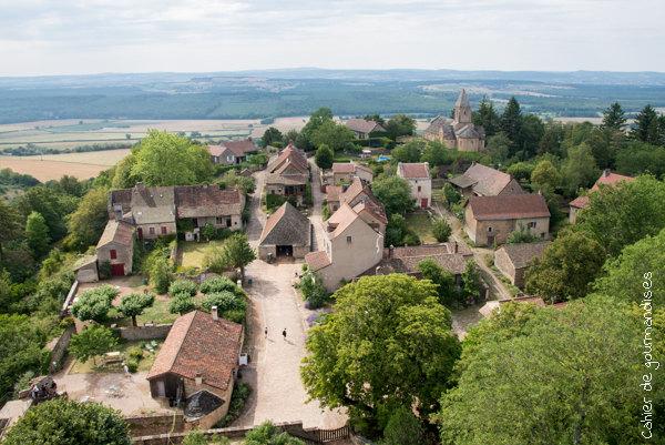 Chateau de Brancion | Cahier de gourmandises