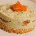 Cheesecakes salés avocat & saumon