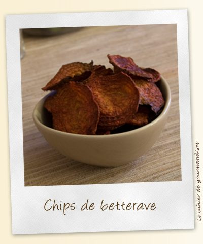 Chips de betteraves