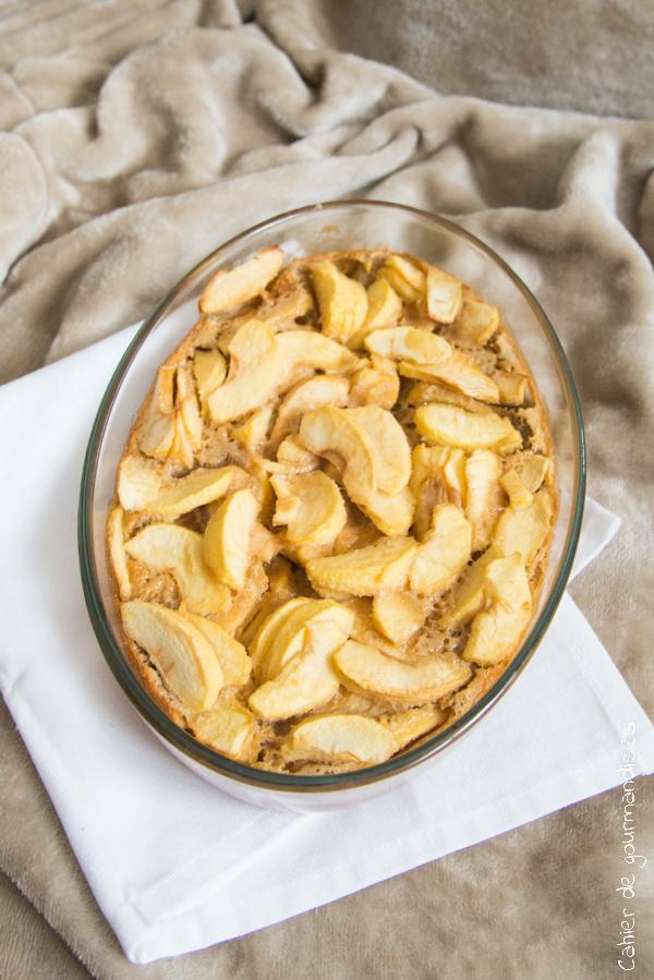 Clafouti aux pommes   Cahier de gourmandises
