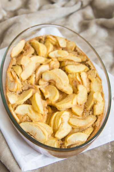 Clafouti aux pommes | Cahier de gourmandises