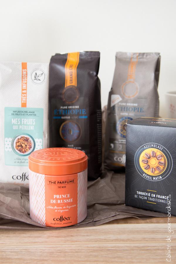 Coffea Rentrée 2017 | Cahier de gourmandises