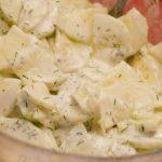 Concombre au yaourt