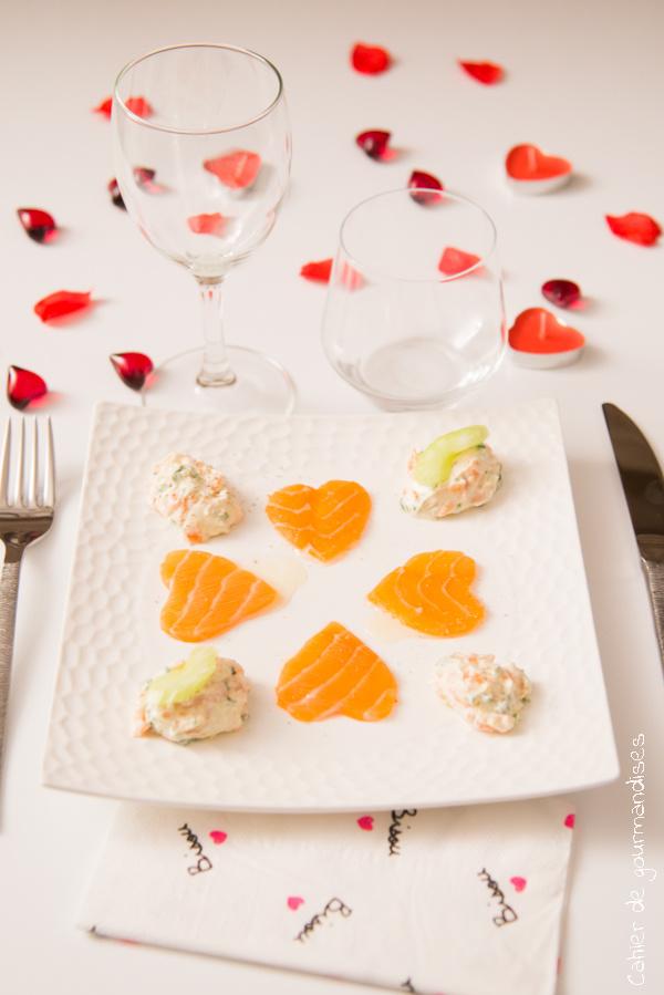 Carpaccio Saumon Cook Angels   Cahier de gourmandises
