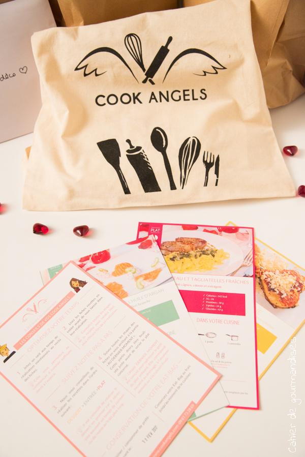 Cook Angels Valentin   Cahier de gourmandises