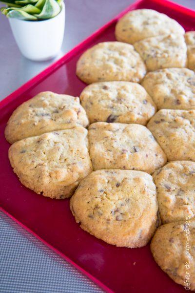 Cookies aux 2 chocolats et noix de pécan