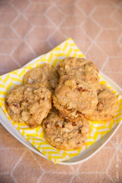 Cookies amandes et chocolat dulche