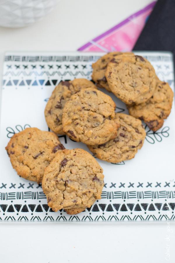 Cookies chocolat praliné | Cahier de gourmandises