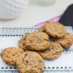 Cookies croustillants au chocolat et praliné