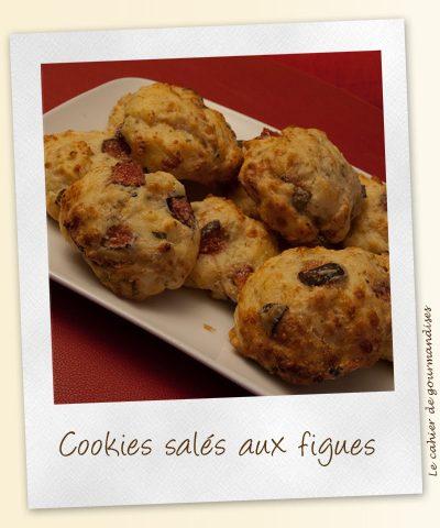 Cookies salés aux figues