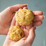 Cookies lardons & pignons de pin