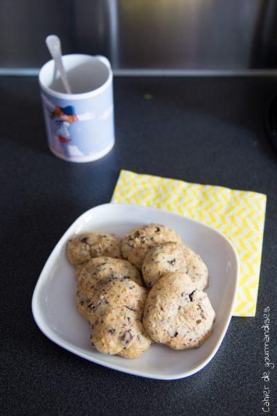Biscuits aux pépites de chocolat sans MG ajoutées