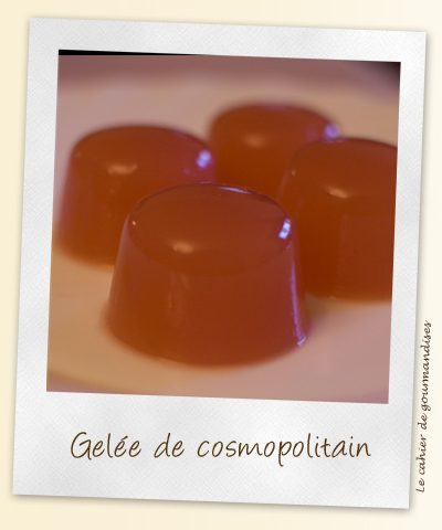 Cosmopolitain façon cuisine moléculaire
