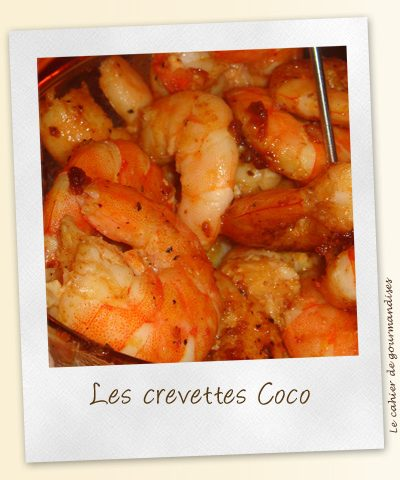 Les crevettes Coco