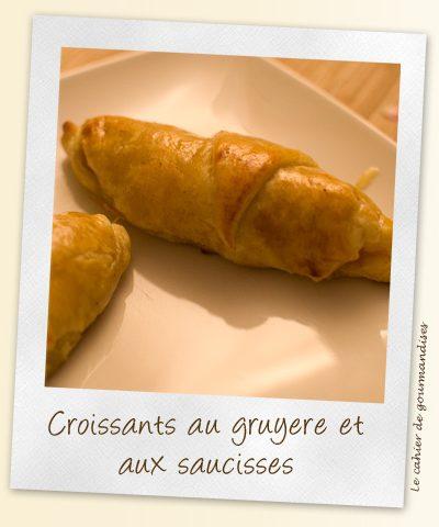 Croissants de saucisse