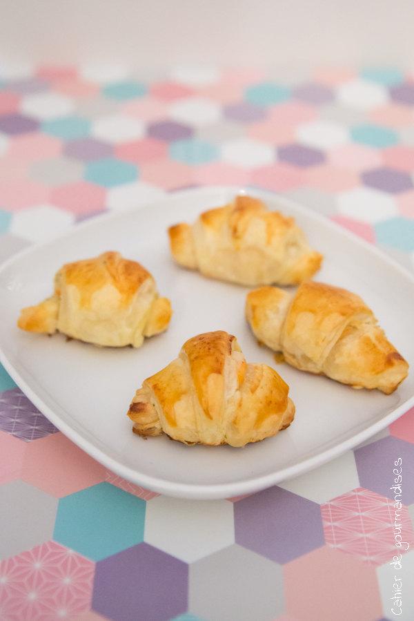 Croissants feuilletés au saumon | Cahier de gourmandises