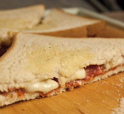 Croque Chorizo et figues