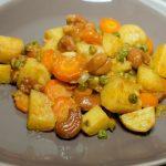 Curry de légumes aux pommes de terre