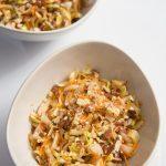 Salade d'endives, carottes et amandes