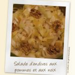 Salade d'endives aux pommes et aux noix