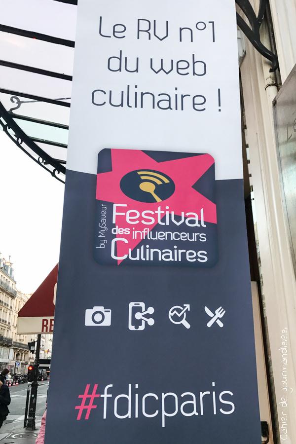 Festival des Influenceurs culinaires | Cahier de gourmandises
