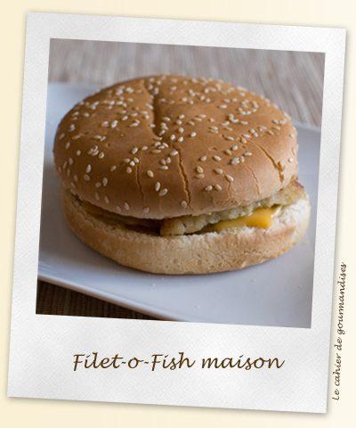 Filet-o-fish maison