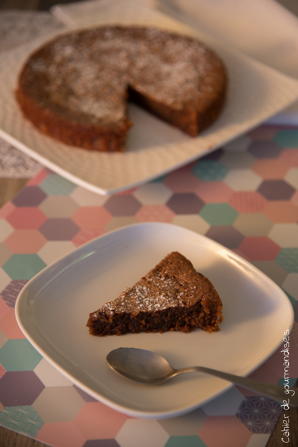 Fondant au chocolat   Cahier de gourmandises