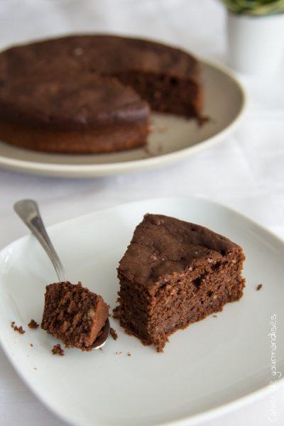 Fondant au chocolat et amande (sans sucre ajouté)