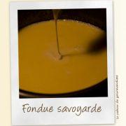 Fondue Savoyarde - Cahier de gourmandises
