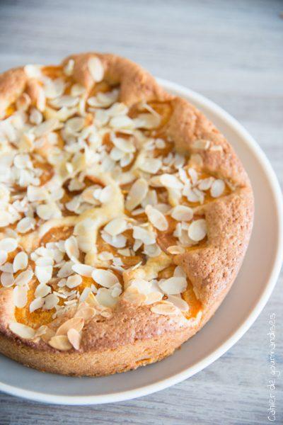 Gâteau amandes & abricots