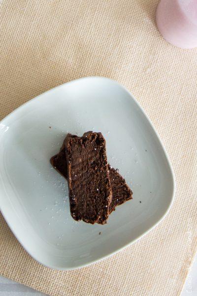 Gâteau au chocolat à la banane sans sucre ajouté