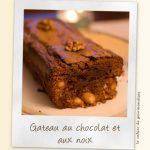 Gâteau chocolat aux noix et aux amandes