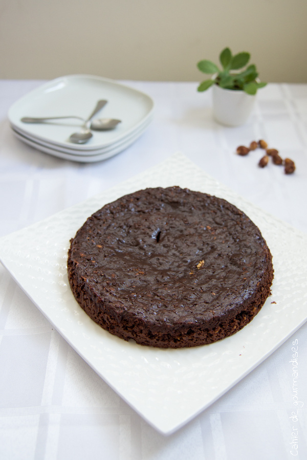 Gâteau léger chocolat pralin | Cahier de gourmandises