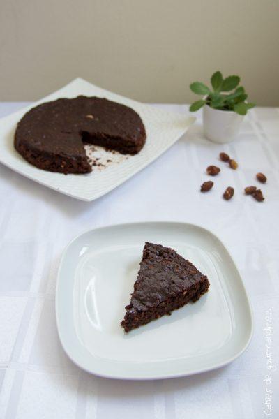 Gâteau au chocolat & pralin