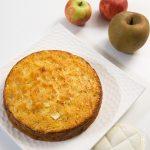 Gâteau aux pommes et aux noisettes