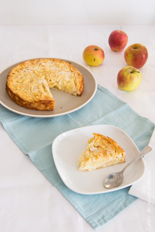 Gateau pommes ricotta | Cahier de gourmandises