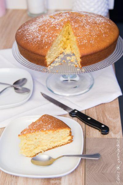 Le gâteau au lait