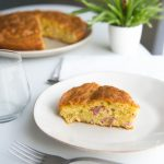 Gâteau salés facile aux lardons