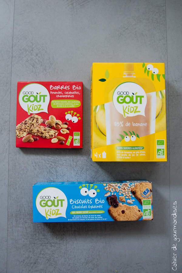 Good Gout Kids | Cahier de gourmandises