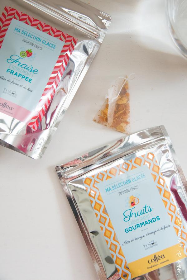 Infusion glacee Coffea   Cahier de gourmandises