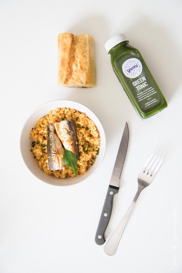 Déjeuner Yumi | Cahier de gourmandises
